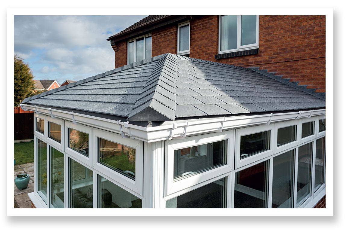 Insulated Tiled Conservatory Roof Conversion (Detail)